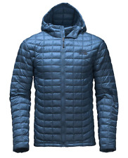 NWT The North Face ThermoBall Hooded Jacket, Men's, Shady Blue, Size MEDIUM