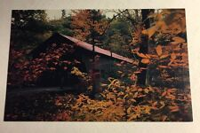 Post Card Autumn Albany Covered Bridge Kancamagus Wilderness New Hampshire