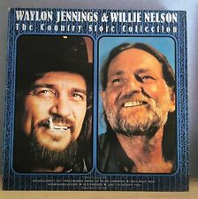 WAYLON JENNINGS WILLIE NELSON  The Country Store Collection 1988 UK Vinyl LP EXC