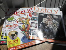 COLLECT IT NOV 2005 #100 & POTTERY COLLECTOR MAGAZINES CHANEL BOSSON GLASS