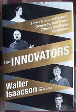 The Innovators Walter Isaacson Steve Jobs Bill Gates Internet Computer HBDJ Book
