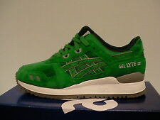 Asics running shoes gel-lyte iii size 9.5 us men green new with box