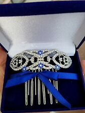 TWILIGHT BREAKING DAWN BELLA'S WEDDING HAIR COMB REPLICA IN VELVET BOX RETIRED