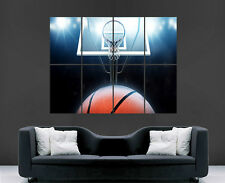 BASKETBALL POSTER WALL SPORT NBA USA GIANT LARGE HUGE  IMAGE PRINT WALL ART