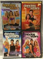 4 Dancing with the Stars dance workout exercise fitness DVD lot, cardio latin