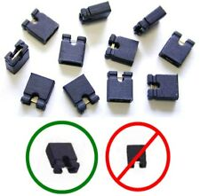 "Lot100 Jumper/Jump Block 2.54mm/.1"" Computer/HD/CD/SCSI/PCB/Circuit Board{BLACK"