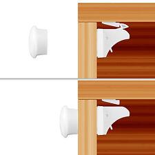 10 Locks + 2 Key Baby Child Infant Safety Cupboard Drawer Cabinet Magnetic Lock