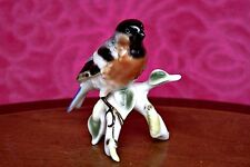 Vintage West Germany Bavaria 'Gerold Porzellan' Porcelain Bird Figurine