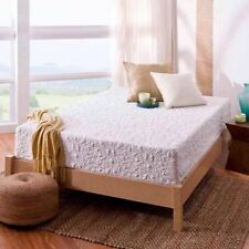 "NEW White Full Size 12"" Theratouch Comfy Memory Foam Mattress By Spa Sensations"