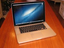 "15"" Apple Macbook Pro i7 Quad Core + 16 GB RAM + Thunderbolt + EXTRAS!!"