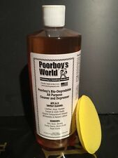Poorboy's World All Purpose Cleaner 32oz 946ml + FREE APPLICATOR PAD!