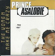 PRINCE ASALOBIE - The woman make me crazy CD SINGLE 2TR Eurodance 1996 HOLLAND