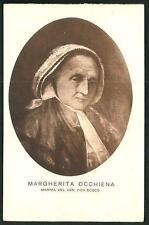 Margherita Occhiena ( Madre di Don Bosco ) - personaggi famosi - cartolina