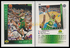 NBA UPPER DECK 1993/94 - Shawn Kemp # 149 - Supersonics - Ita/Eng - MINT