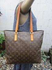 LOUIS VUITTON AUTHENTIC CABAS MEZZO TOTE BAG PURSE
