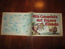 GLI ALBI DELL'INTREPIDO N°108  10-2-1948 ALLA CONQUISTA DEL MONDO NUOVO  GALEP