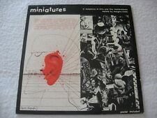 MINIATURES ed. by MORGAN-FISHER Pipe LP 1980 Excellent Condit. Wyatt Fripp Frith