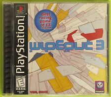 Wipeout 3  (Sony PlayStation 1, 1999) Complete! Tested, WORKS!