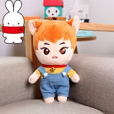 KPOP EXO Star KimMinseok XIUMIN w Clothes Kawaii Plush Toy Stuffed Doll Fanmade