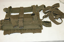 BRITISH ARMY 1944 1958 PATTERN WEBBING SAS PARA SBS AIRBOURNE ROLL CASE HARNESS