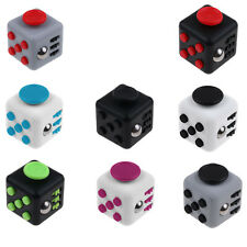 3pcs/Lot Funny Fidget Cube Toy Kids Adults Xmas Gift Anxiety Stress Relief 2016