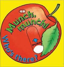 Munch, Munch! Who's There? (Mini Movers)  Board book