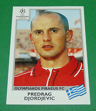 N°180 DJORDJEVIC OLYMPIAKOS PANINI FOOTBALL CHAMPIONS LEAGUE 1999-2000