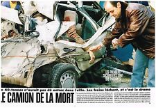 Coupure de presse Clipping 1994 (6 pages) Accident le camion fou d'Andorre