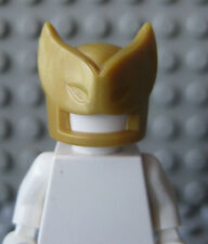 Custom GOLD Savage/Superhero MASK for Lego Minifigures - by Brickforge-