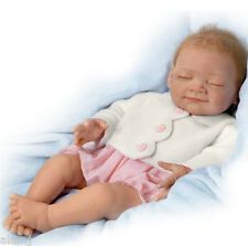 Ashton Drake Baby Doll Night Night Gracie Weighted - Posable
