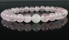 Moonstone and Rose Quartz Fertility Bracelet 6mm