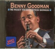 Benny Goodman - 16 Most Requested Songs - CD (1993)