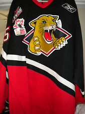 2006 WHL PRINCE GEORGE COUGARS ANDY ROGERS GAME WORN HOCKEY JERSEY
