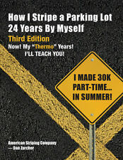 Expert How To Parking Lot Line Striping Book, English, How to Book, Paperback