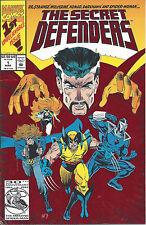 Secret Defenders #1 -March 93 -red foil stamped -Doctor Strange, Wolverine