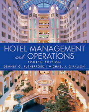 Hotel Management and Operations - Perfect for University or College study.