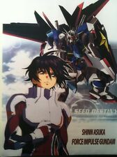"Gundam Seed Destiny Large Fabric Banner Poster 43"" X 31"" Wall Scroll Mobile Suit"