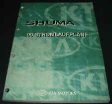 Werkstatthandbuch Elektrik Kia Shuma I elektrische Schaltpläne Ausgabe 1999