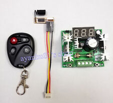 DC5-72V 12 36V 48V Digital DC Motor PWM Governor Speed Controller Remote Control
