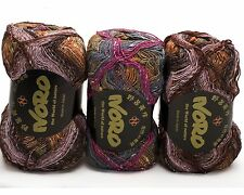 3 x 100g. Multicoloured Noro Taiyo Sock yarn - Colour S6