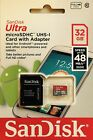 Sandisk 32GB Mobile Ultra UHS-I class 10 micro SD card SDHC GoPro **80Mbs**