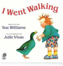 I Went Walking by Sue Williams and Julie Vivas (1990, Hardcover)