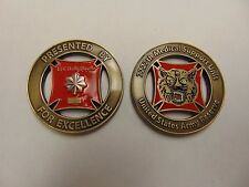 CHALLENGE COIN 7227TH MEDICAL SUPPORT UNIT US ARMY RESERVE LTC DALE DOEHR EXCEL