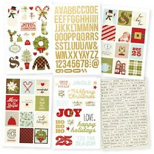 Simple Stories - CLASSIC CHRISTMAS Sticker Pack - Perfect Planner Stickers
