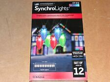 Lot 6 Boxes C9 LED Synchro Lights Color Changing Christmas String Lightshow 12
