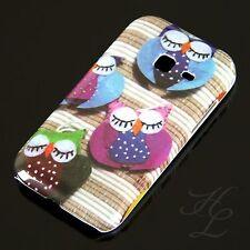 Samsung Galaxy Ace duos s6802, FUNDA RÍGIDA, FUNDA, MÓVIL, funda protectora, estuche sueño final LECHUZA BÚHO