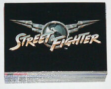 Street Fighter the Movie by Upper Deck in 1994. Complete 90 card base set