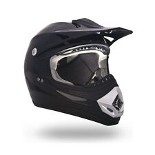 CKX ATV MX OFF ROAD HELMET PLUS SIZE 4XL 4X MOTOCROSS BLACK GLOSS