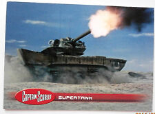 Captain scarlet-trading card #14, Supertank-invincible 2015