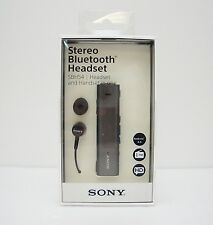 Sony SBH54 Stereo Bluetooth Headset & Handset in one OLED FM radio - Black